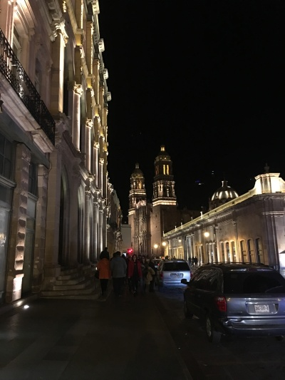 Zacatecas on Christmas Eve